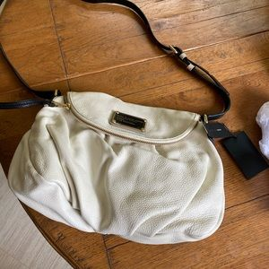 NWT Marc by Marc Jacobs cream and black crossbody